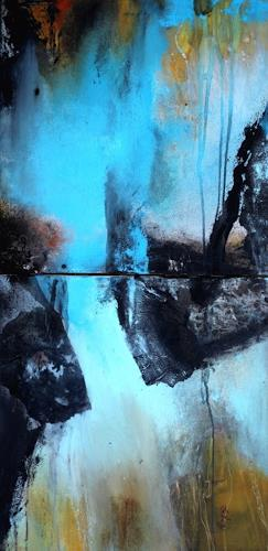 Agnes Lang, Mirage, Abstract art, Miscellaneous Landscapes, Contemporary Art, Expressionism