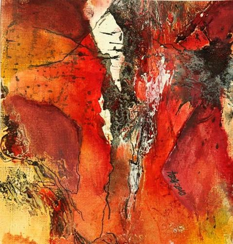 Agnes Lang, Farbe macht glücklich, Abstract art, Contemporary Art, Expressionism