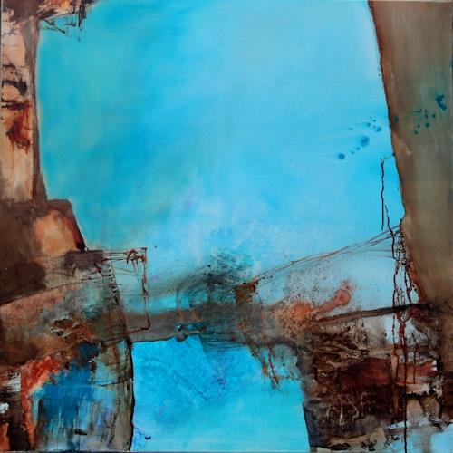 Agnes Lang, Waterworld l, Miscellaneous, Abstract art, Contemporary Art, Abstract Expressionism