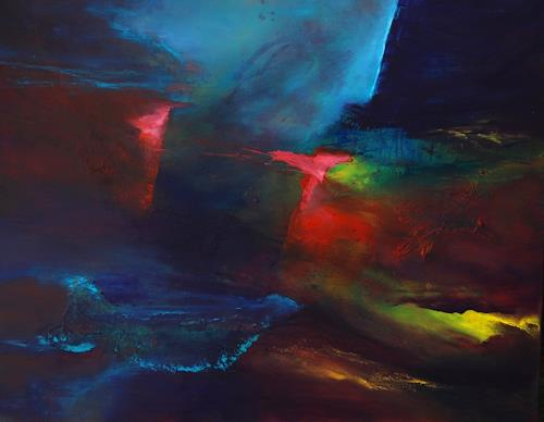 Agnes Lang, Licht der Hoffnung, Abstract art, Fantasy, Contemporary Art, Abstract Expressionism