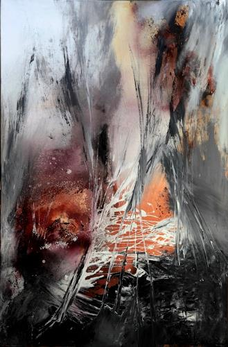 Agnes Lang, Inbrunst, Miscellaneous, Abstract art, Contemporary Art, Expressionism