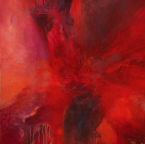 Agnes Lang, Rubia, Abstract art, Nature: Fire, Contemporary Art