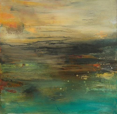 Agnes Lang, Horizont l, Landscapes, Abstract art, Contemporary Art