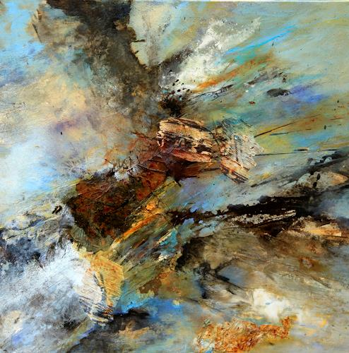 Agnes Lang, Fliehkraft, Miscellaneous, Movement, Contemporary Art, Abstract Expressionism