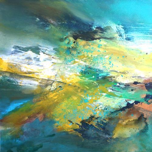 Agnes Lang, Auvergne II, Landscapes: Spring, Nature, Non-Objectivism [Informel], Expressionism