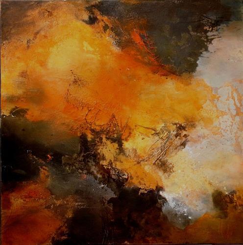 Agnes Lang, Naturgewalt, Fantasy, Abstract art, Abstract Art, Expressionism