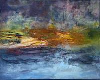 Agnes-Lang-Landscapes-Plains-Abstract-art-Modern-Age-Abstract-Art-Colour-Field-Painting