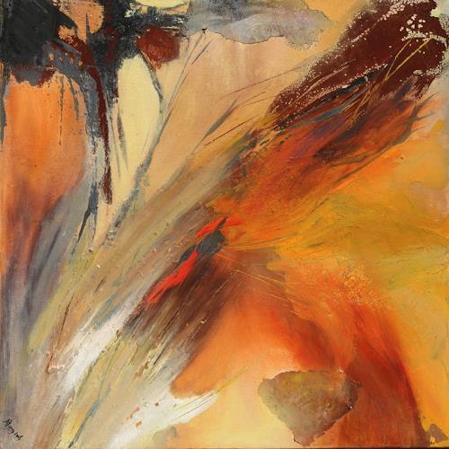 Agnes Lang, Vom Winde verweht, Fantasy, Movement, Non-Objectivism [Informel], Abstract Art, Modern Age