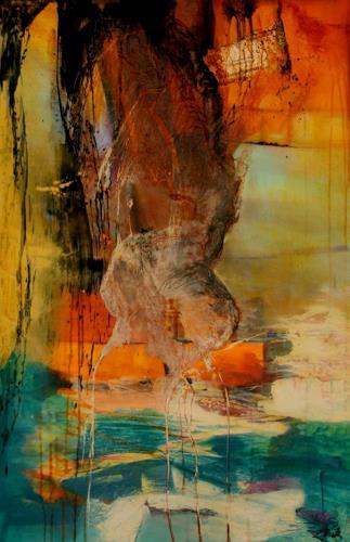 Agnes Lang, Elysium, Fantasy, Landscapes: Tropics, Modern Age