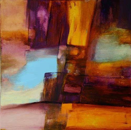 Agnes Lang, 0.T.7, Abstract art, Fantasy, Modern Age