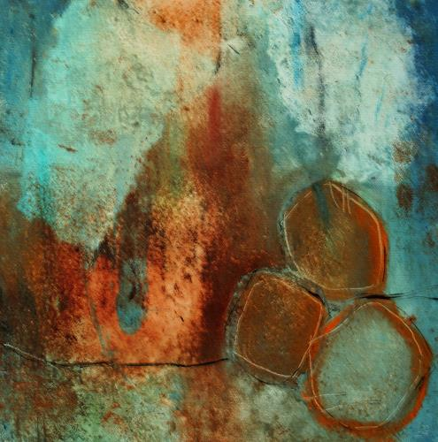 Agnes Lang, Rundung, Abstract art, Fantasy, Modern Age, Expressionism