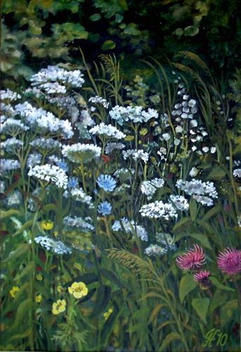 hofmannsART, Wiesenrain, Miscellaneous Plants, Nature: Miscellaneous, Naturalism