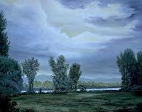 hofmannsART, Nachtstimmung am Rhein