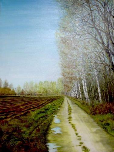 Günther Hofmann, Nach dem Regen, Miscellaneous Landscapes, Abstract Art
