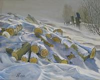 hofmannsART-Landscapes-Winter-Nature-Miscellaneous-Modern-Age-Impressionism