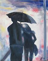 hofmannsART-People-Couples-Emotions-Love-Modern-Age-Impressionism-Neo-Impressionism