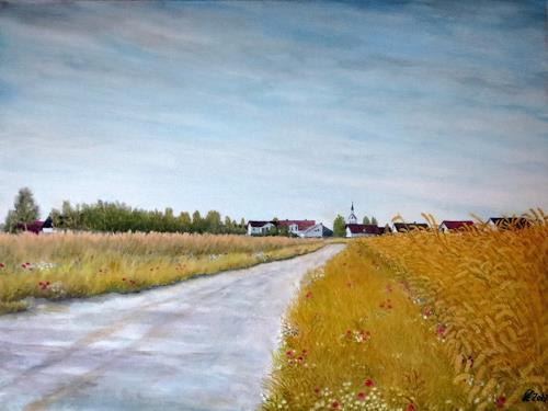 hofmannsART, Neudorf (Graben-Neudorf), Landscapes: Plains, Miscellaneous Landscapes, Impressionism
