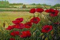 hofmannsART-Landscapes-Summer-Plants-Flowers-Modern-Age-Impressionism