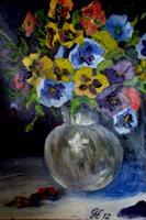 hofmannsART-Still-life-Plants-Flowers-Modern-Age-Impressionism