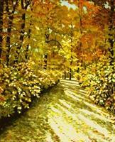 hofmannsART, Herbstsonne im Wald