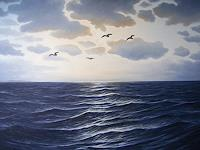 Lothar-Struebbe-Landscapes-Sea-Ocean-Nature-Water-Modern-Age-Naturalism