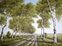 Lothar-Struebbe-Landscapes-Summer-Modern-Age-Naturalism