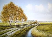 Lothar-Struebbe-Landscapes-Autumn-Modern-Age-Naturalism