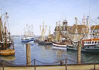 Lothar-Struebbe-Landscapes-Sea-Ocean-Landscapes-Sea-Ocean-Modern-Age-Naturalism