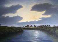 Lothar-Struebbe-Landscapes-Summer-Miscellaneous-Romantic-motifs-Modern-Age-Naturalism