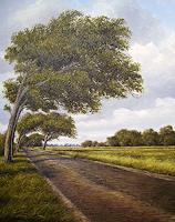 Lothar-Struebbe-Landscapes-Summer-Landscapes-Summer-Modern-Age-Naturalism
