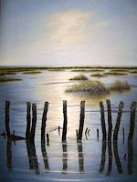 Lothar-Struebbe-Nature-Water-Landscapes-Sea-Ocean-Modern-Age-Naturalism