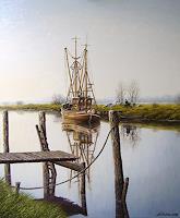 Lothar-Struebbe-Landscapes-Sea-Ocean-Landscapes-Autumn-Modern-Age-Naturalism