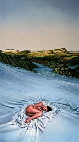 Roland H. Heyder, Findling, Erotic motifs: Female nudes, Landscapes: Winter, Neue Sachlichkeit