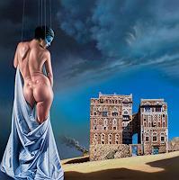 Roland-H.-Heyder-Erotic-motifs-Female-nudes-Burlesque-Modern-Age-Photo-Realism-Hyperrealism