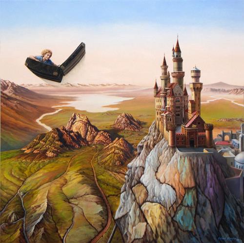 Roland H. Heyder, Der fliegende Koffer, Fairy tales, Fantasy, Realism