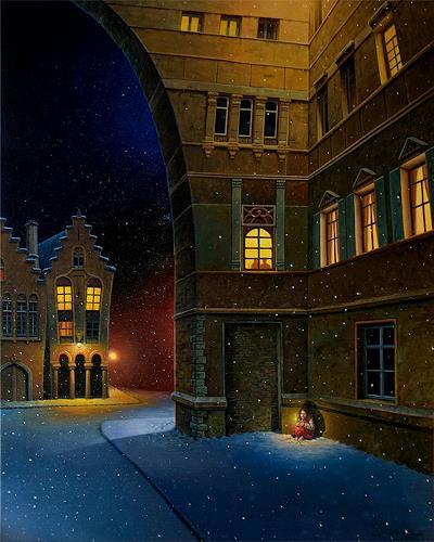 Roland H. Heyder, Das kleine Mädchen mit den Schwefelhölzchen, Fairy tales, Times: Winter, Realism