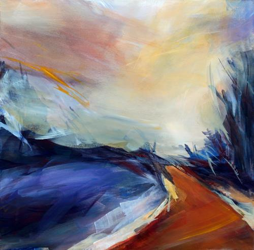 Ute Laum Art Landscapes: Plains Nature: Miscellaneous Modern Age Expressionism Abstract Expressionism