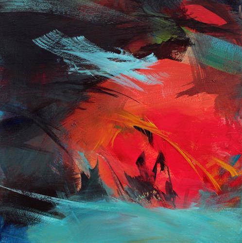 Ute Laum, Kleine Zuneigung, Abstract art, Miscellaneous Plants, Abstract Art, Abstract Expressionism