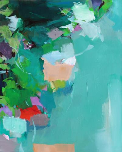 Ute Laum, Viridescence, Landscapes: Spring, Miscellaneous Plants, Abstract Art, Expressionism