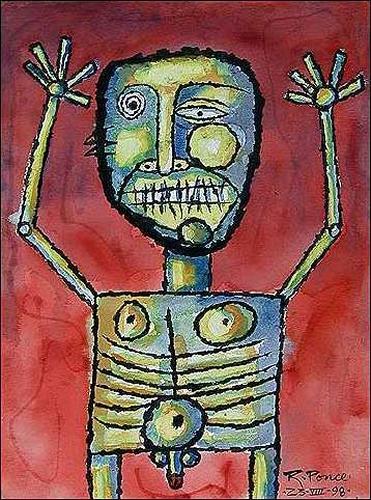 Ricardo Ponce, Nudista, Emotions: Fear, People: Men