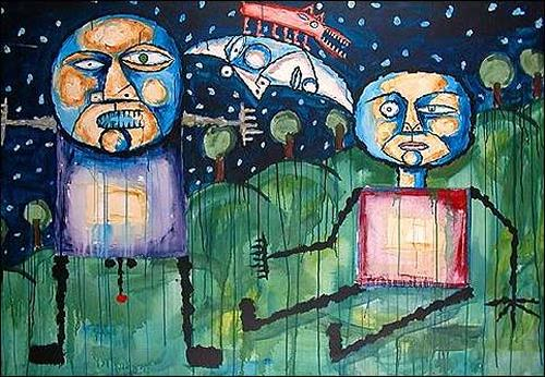 Ricardo Ponce, Sin tu acción nocturna, Poetry, Miscellaneous Romantic motifs, Expressionism