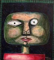 Ricardo-Ponce-People-Portraits-Miscellaneous-Modern-Age-Abstract-Art-Art-Brut