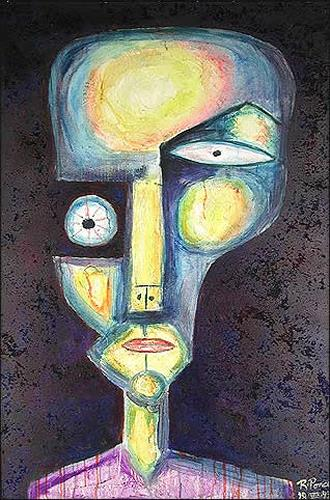 Ricardo Ponce, N/T, Symbol, People: Portraits