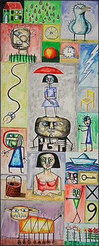 Ricardo Ponce, Inventario, Symbol, Situations, Abstract Art, Expressionism