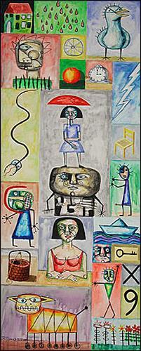 Ricardo Ponce, Inventario, Symbol, Situations, Expressionism