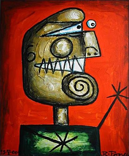 Ricardo Ponce, Serie: Iluminados, Humor, People: Portraits