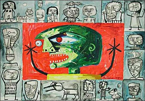 Ricardo Ponce, Inventario Homenaje: Alchinsky, Symbol, Situations, Art Brut, Abstract Expressionism