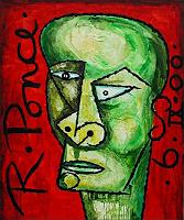Ricardo-Ponce-People-Portraits-People-Men-Modern-Age-Cubism