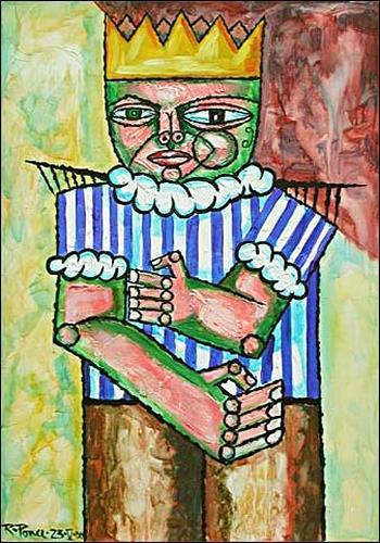 Ricardo Ponce, El Rey, People: Men, Symbol, Expressionism