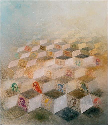 Fritz Huser, Verwandte III, Miscellaneous, Surrealism, Dadaism, Expressionism